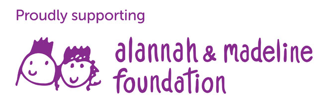Babysitters Now proudly supports the Alannah and Madeline Foundation
